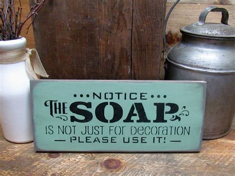 funny bathroom gifts funny bathroom sign housewarming gift notice the soap