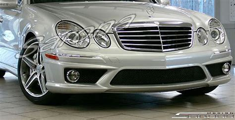 custom mercedes  class sedan front bumper    part mb  fb