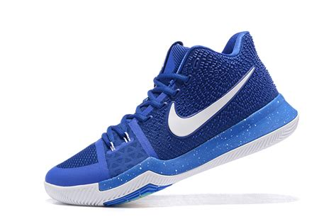 royal blue nike basketball shoes nike kyrie irving 3 royal blue white basketball shoes for