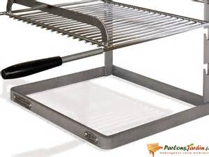 grille et support pour chemin 233 e ou barbecue ye 1092 sur