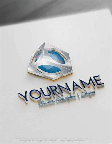 free 3d logo templates create 3d globe logo designs with free 3d logo creator