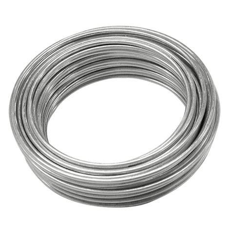 with and wire ook 16 25 ft galvanized steel wire 50130 the home
