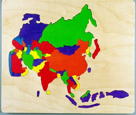 asia map puzzle world map with countries and capitals free