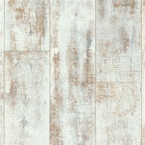 Distressed White Oak Effect Laminate Flooring