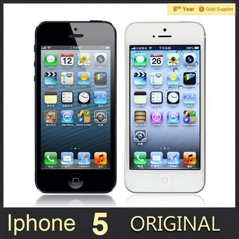 original apple iphone 5 cell phone ios os dual 1g ram 16gb 32gb 64gb rom 4 0 inch 8mp