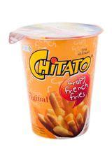 Chitato Rasa Asli 75 chitato crispy fries original cup 40g klikindomaret