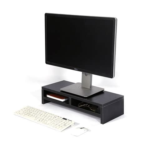 computer monitor stand for desk computer monitor stand desk table 2 tier shelves laptop