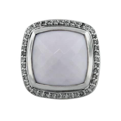 david yurman silver white agate albion ring boca raton