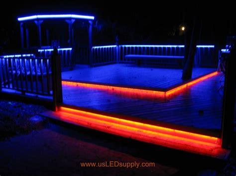 outside led light strips led deck lights