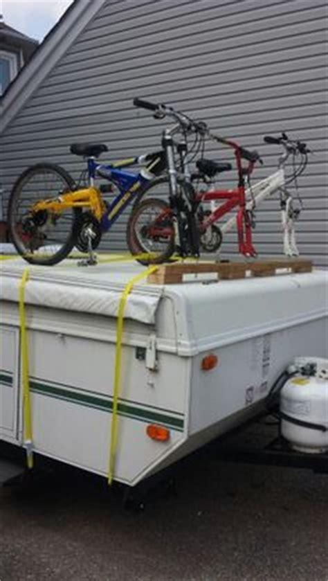Diy Pop Up Cer Bike Rack by Bike Rack Pop Up Cer Thread Diy Bike Rack For Pop