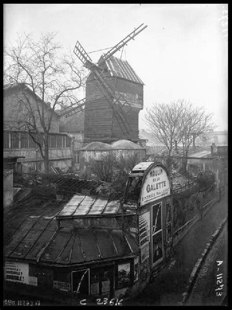 El Moulin de la Galette en 1923 | La triste imagen que
