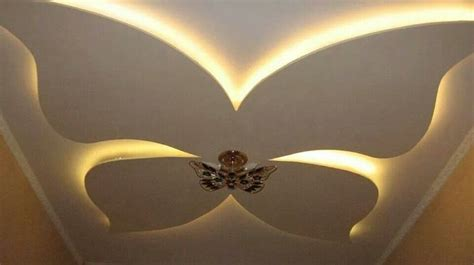 False Ceiling With Butterfly Home Ideas Pinterest Butterfly Ceiling Light