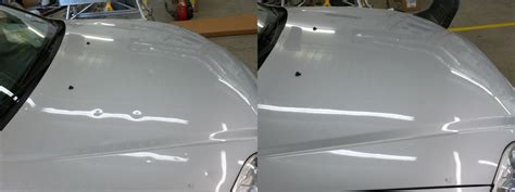 Hair Dryer To Fix Hail Damage 2000 honda civic with hail damage before and after paintless dent repair dent biz paintless