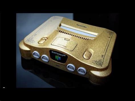 nintendo nes wii custom paint custom nintendo 64 console gold metal flake paint