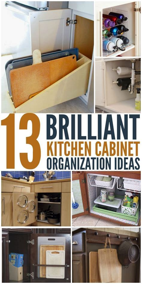 Kitchen Cabinets Organizing Ideas by 423 Best Cleaning Amp Organization Images On Pinterest