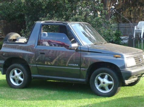 1994 Suzuki Vitara 1994 Suzuki Vitara Jlx 4x4 Xccobrasedanrpo97