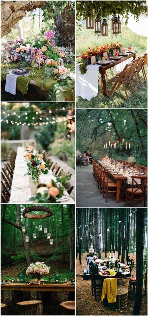 30 woodland wedding table d 233 cor ideas deer pearl flowers part 2