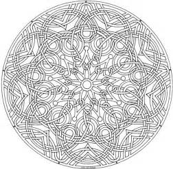 Free Lion Mandala Coloring Pages