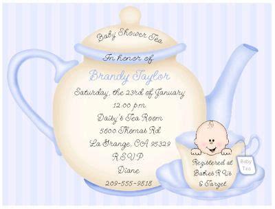 Tea Baby Shower Invitations Ideas by Tea Baby Shower Invitations Dolanpedia Invitations