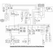 Yamaha Raptor Yfm350s Electrical System Wiring Diagram