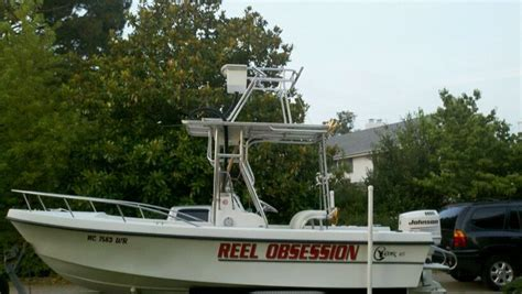 boat cobia tower 20 ft chawk cc w cobia tower and full controles the