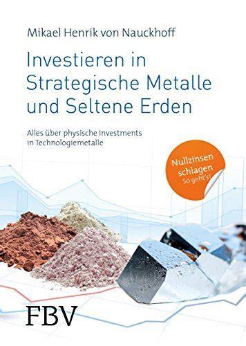 Investieren In Strategische Metalle Und Seltene Erden