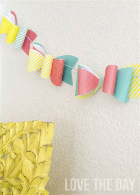Make A Bow Out Of Paper - how to make a bow out of paper tutorial free printable