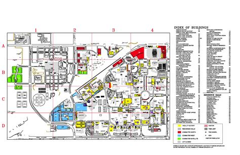 map of texas tech tennessee tech cus map swimnova