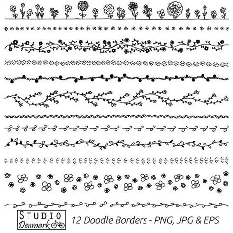free vector doodle line 25 best ideas about doodle borders on bible