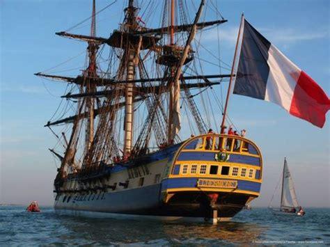 hermione bateau premi 232 re sortie en mer pour l hermione r 233 plique du navire