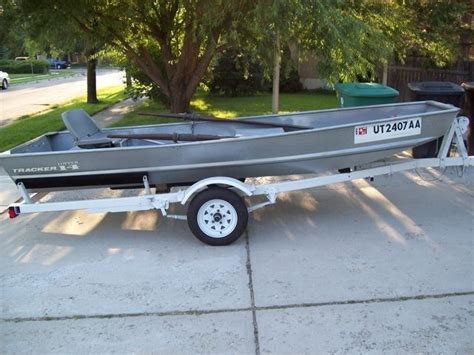 14 ft flat bottom boat and trailer for sale in murray - Flat Bottom Boat Ksl