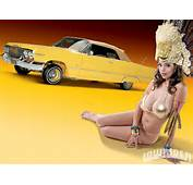 Download Full Size Yellow Lowrider Girls &amp Cars Wallpaper / 1600x1200
