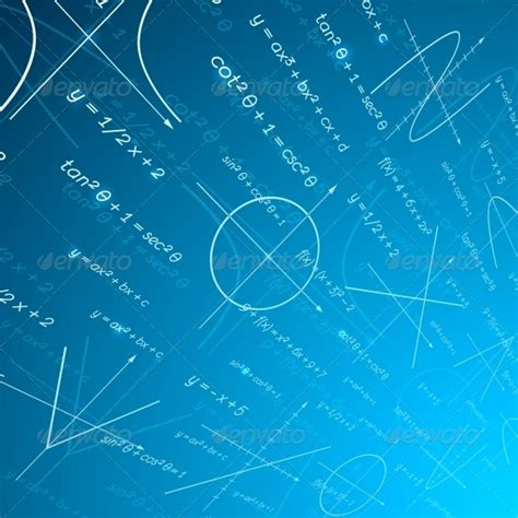 Mathematics Perspective Background By Macrovector Math Background For Powerpoint