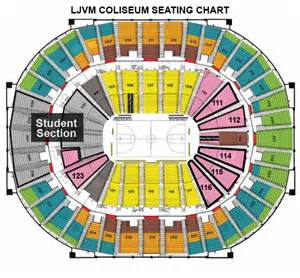 The spring family weekend ticket block lower level seating is
