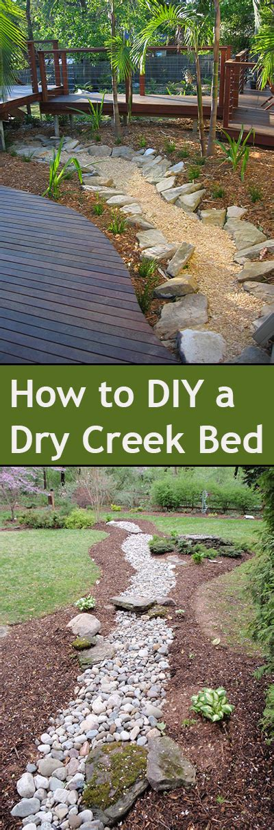 how to build a dry creek bed diy dry creek bed ideas