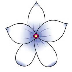 Jasmine flower drawing cartoon image