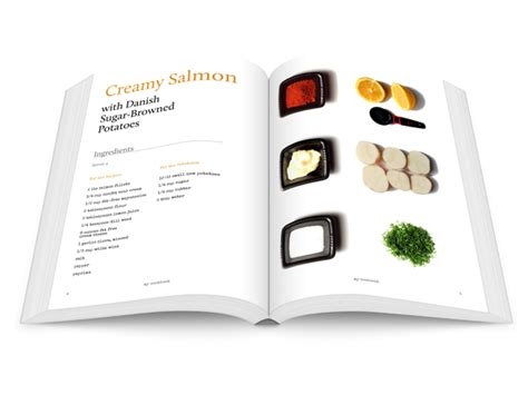book layout using indesign design striking layouts for your own cookery book using