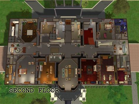 white house second floor mod the sims the white house fully furnished with maxis content