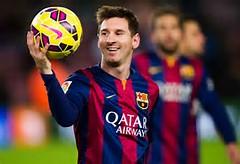 Lionel Messi Barcelona 2015