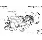 Ac Heater Blend Door Actuator 1992 Chevrolet Truck