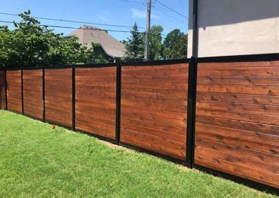 horizontal fence design  modern   beautiful