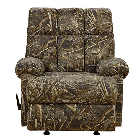 dorel rocking chair with dorel living real tree camouflaged rocker recliner