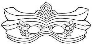 Free Printable Mask Coloring Pages For Kids sketch template