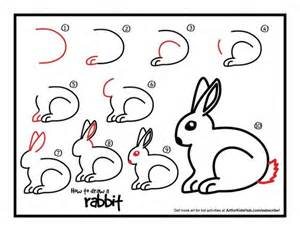 Super simple lesson on how to draw a rabbit for kids watch the short