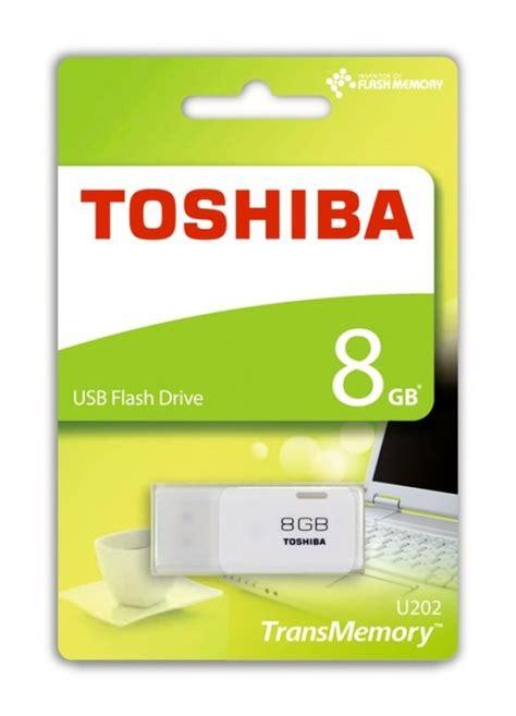 Usb Toshiba 8gb toshiba 8gb transmemory u202 usb flash drive white ebuyer