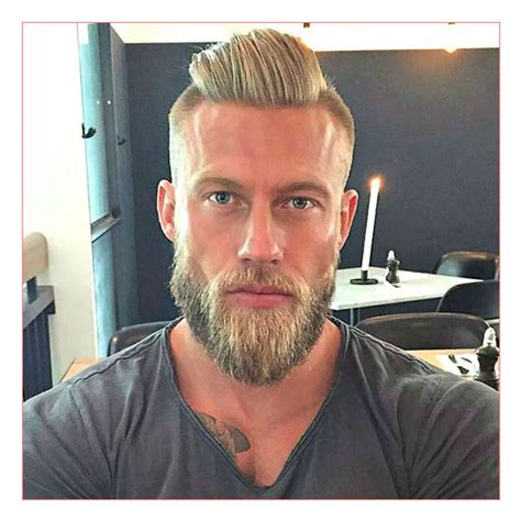 haircut and beard for round face undercut hairstyle with beard for round face hairstyles