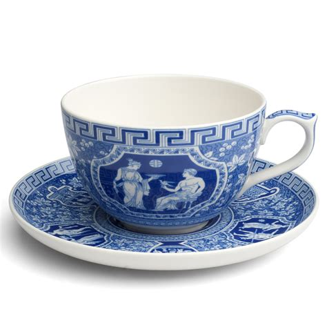 spode blue room jumbo cup and saucer spode blue room jumbo cup saucer