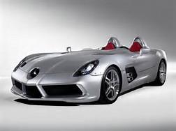Mercedes-Benz Car Girl