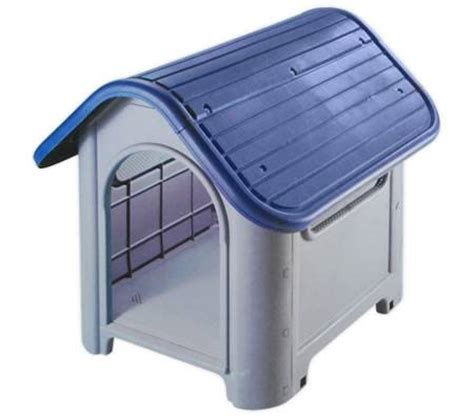 cheap plastic dog house pet dog house plastic dog kennel for indoor or outdoor blue online shopping shopping