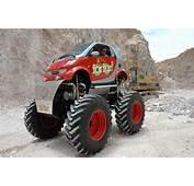 Smart Car Turned Monster Truck  Markpascuacom